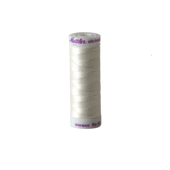 Mettler Cotton All Purpose Thread Ghost White