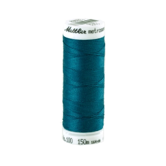 Mettler Metrosene Polyester All Purpose Thread Dark Teal