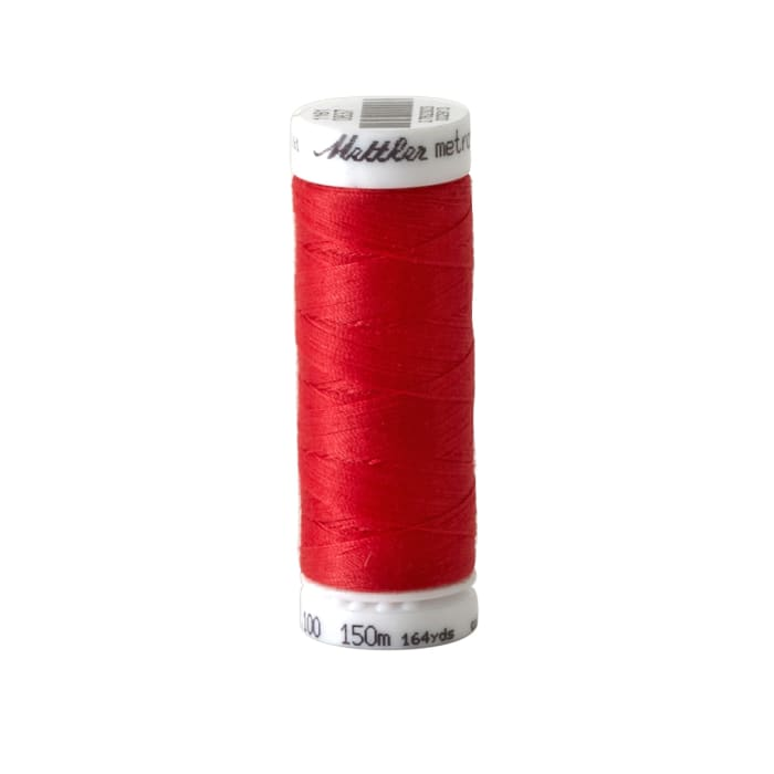 Mettler Polyester All Purpose Thread 50wt 164YDS Strawberry