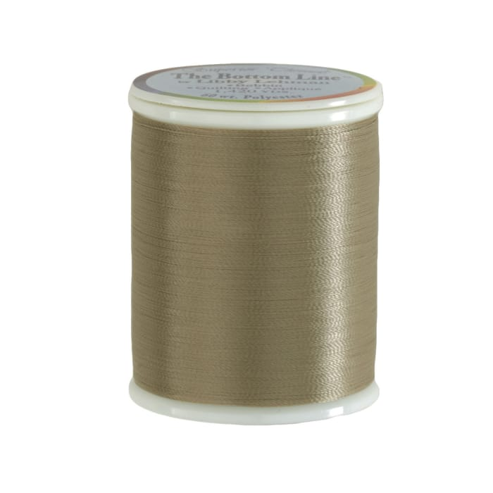 Superior Bottom Line Polyester Thread 60wt 1420yds Taupe