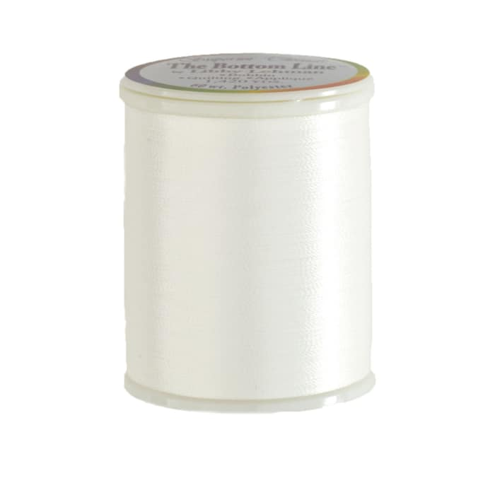 Superior Bottom Line Polyester Thread 60wt 1420yds White
