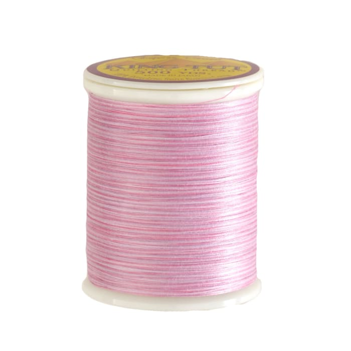 Superior King Tut Cotton Quilting Thread 3-ply 40wt 500yds Cotton Candy