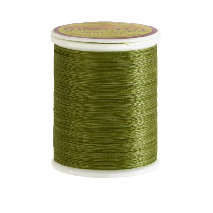 Superior King Tut Cotton Quilting Thread 3-ply 40wt 500yds English Ivy