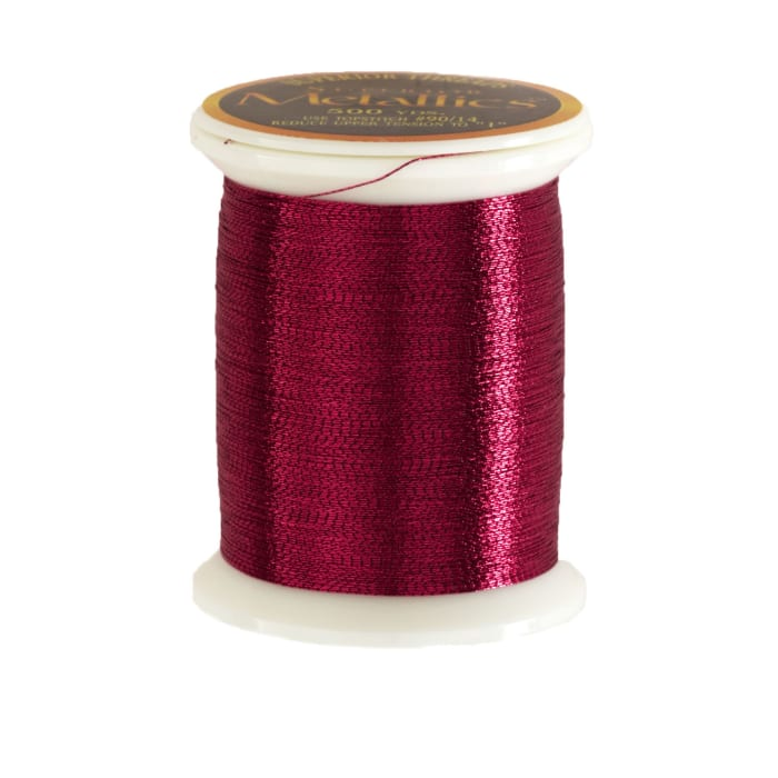 Superior Metallic Thread 500yds Cranberry