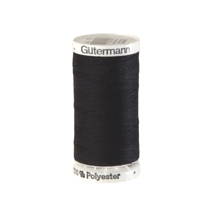 Gutermann Sew-all Polyester All Purpose Thread 250m/273yds Black