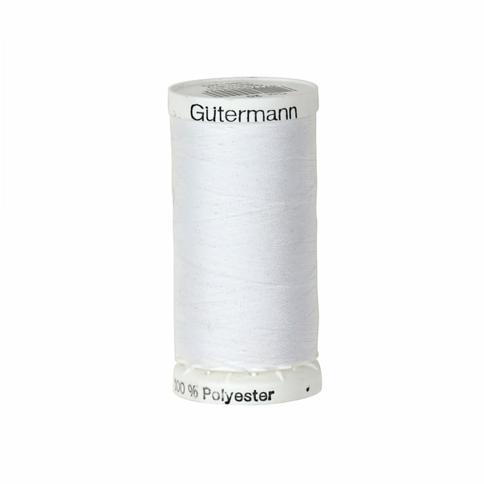 Gutermann Sew-all Polyester All Purpose Thread 250m/273yds White
