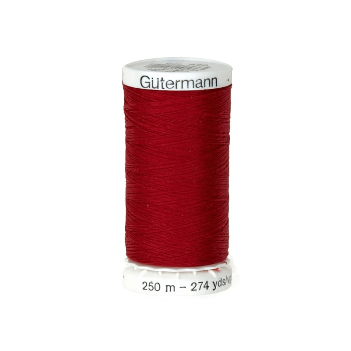 Gutermann Sew-all Polyester All Purpose Thread 250m/273yds Chili Red