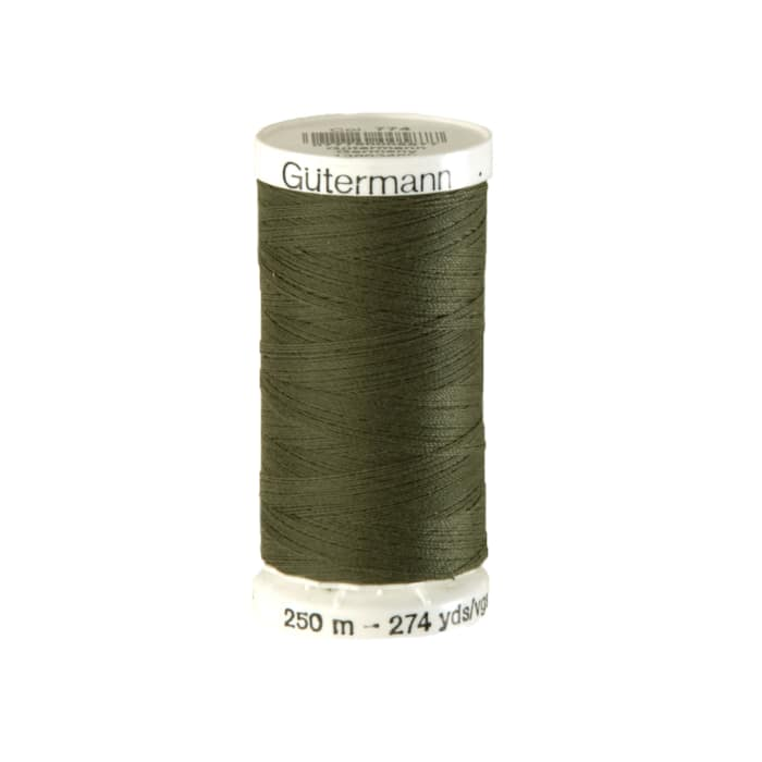 Gutermann Sew-all Polyester All Purpose Thread 250m/273yds Green