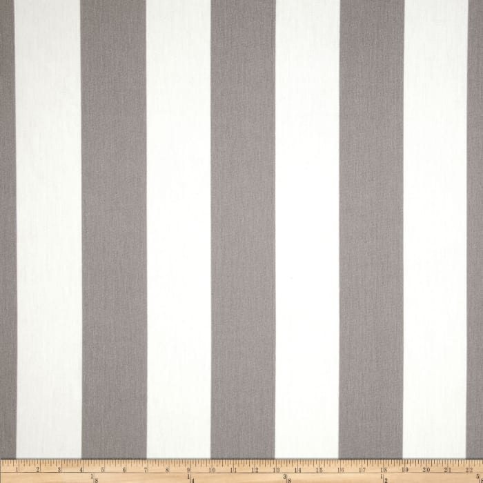 Premier Prints Indoor/Outdoor Vertical Stripe Grey