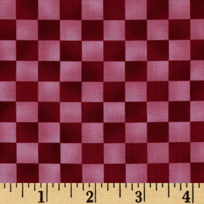 Graphix Checkered Pink Red