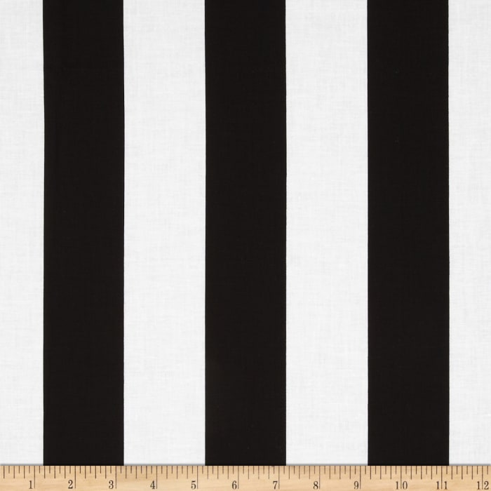 "Riley Blake 2"" Stripe Black"