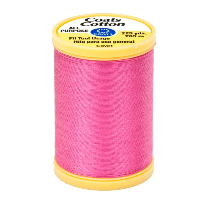 Coats & Clark General Purpose Cotton 225 YD Hot Pink