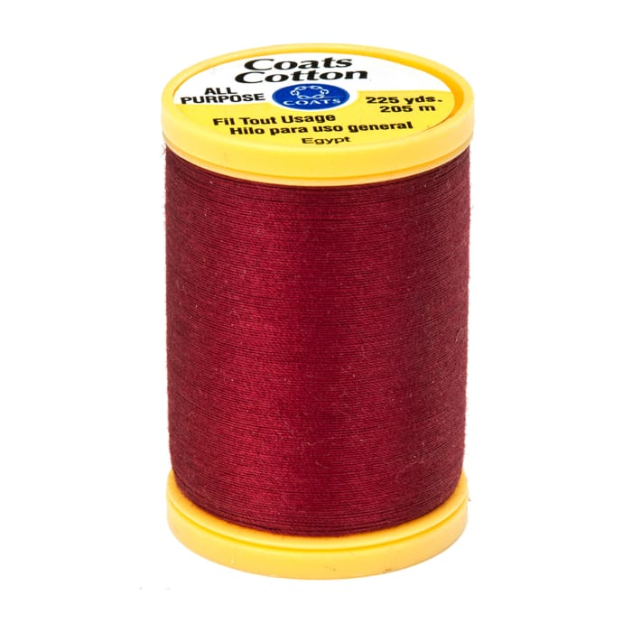 Coats & Clark General Purpose Cotton 225 yd. Barberry Red