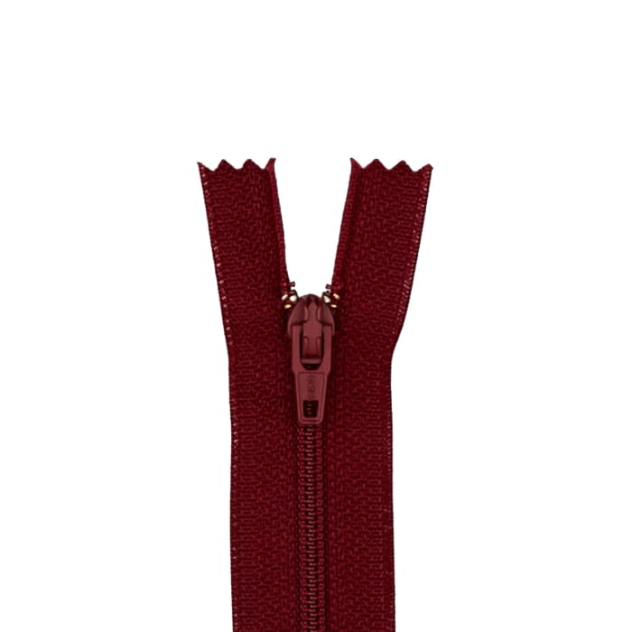 "Coats & Clark Poly All Purpose Zipper 9"" Barberry Red"