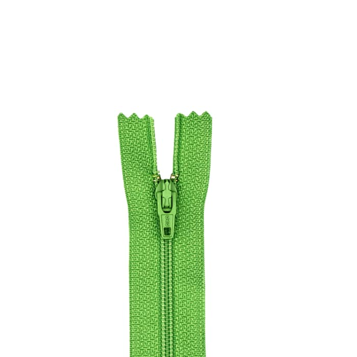 "Coats & Clark Polyester All Purpose Zipper 9"" Bright Green"