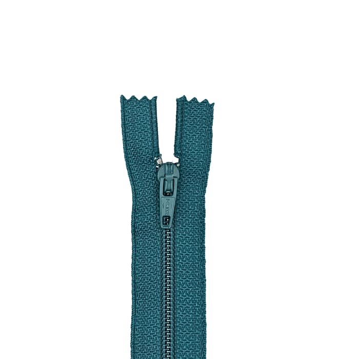 "Coats & Clark Polyester All Purpose Zipper 20"" Dark Teal"