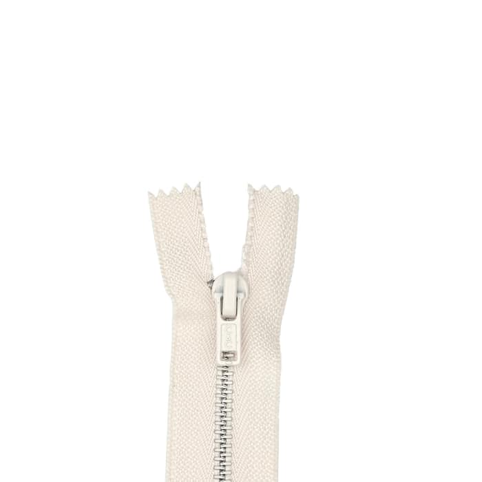 "Metal All Purpose Zipper 9"" Natural"