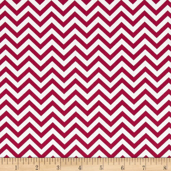 Ups & Downs Chevron Red/White