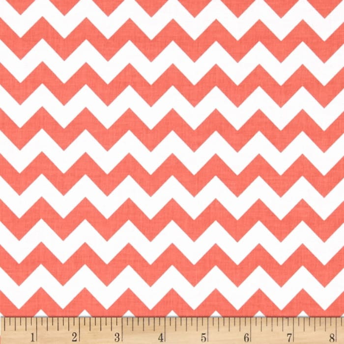 """Riley Blake 58"""" Manufactures Cut Small Chevron Rouge"""