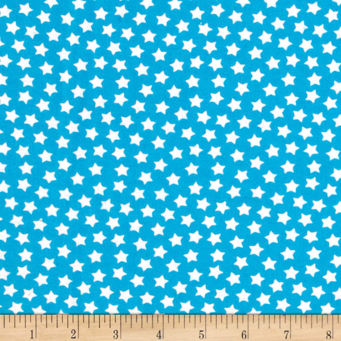Flannel Stars Horizon Blue