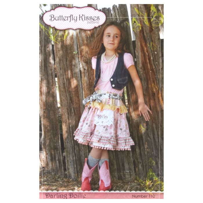 Butterfly Kisses Darling Doilie Skirt Pattern