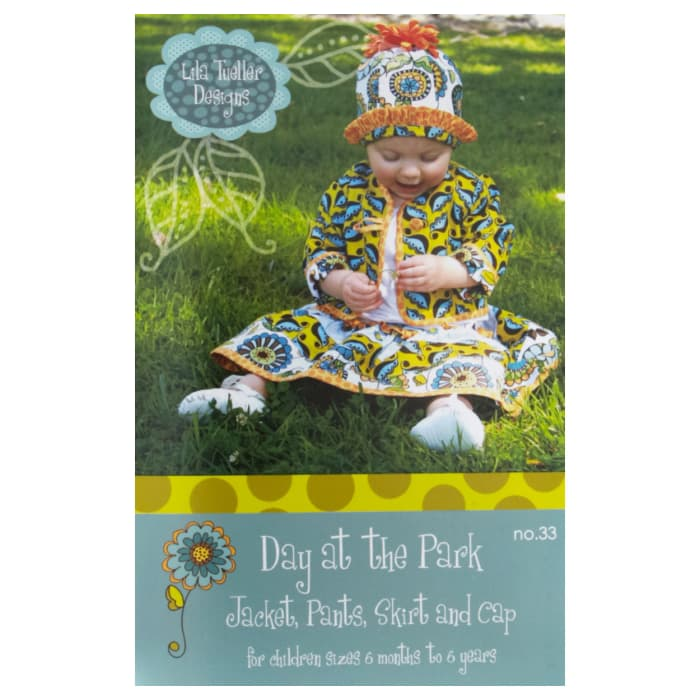 Lila Tueller Day At The Park Pattern