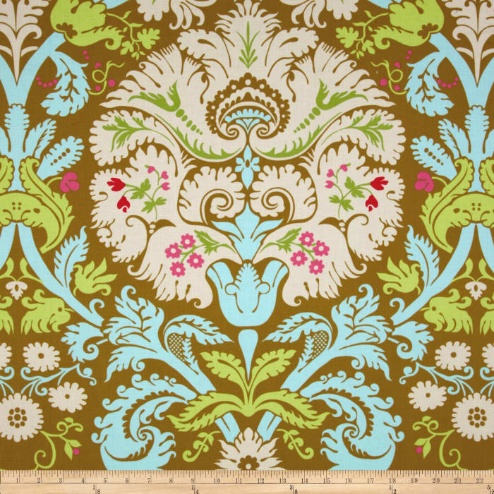 Amy Butler Belle Acanthus Olive