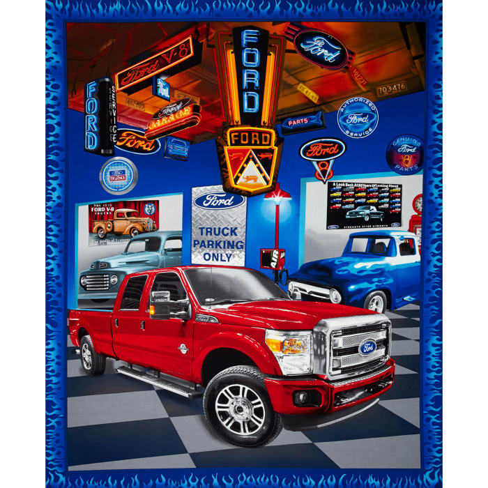 Ford F150 Truck Panel