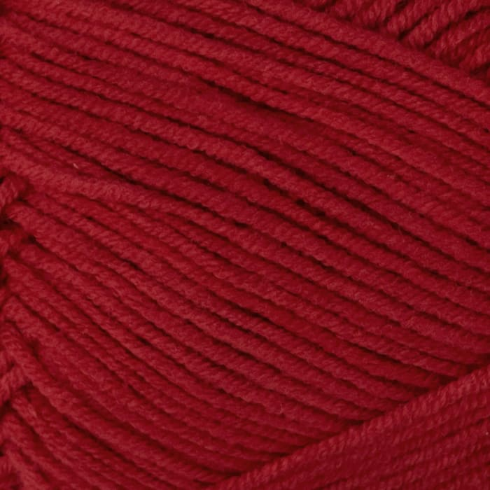 Bernat Cotton-ish by Vickie Howell Yarn (85434) Crimson Twill