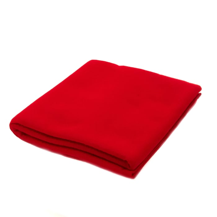 "Rainbow Classic Felt 36 x 36"" Craft Felt Cut Red"