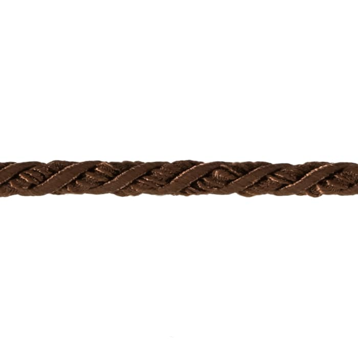 "Sylvia 1/4"" Twisted Cord Trim Chocolate"