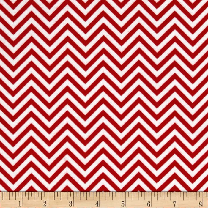 Remix Flannel Chevron Cherry