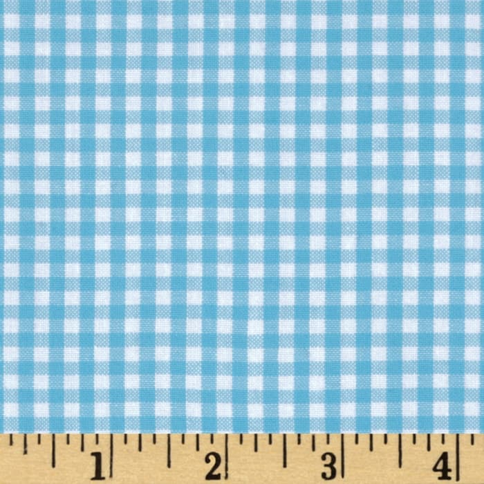 Kaufman 1/8'' Carolina Gingham Pond
