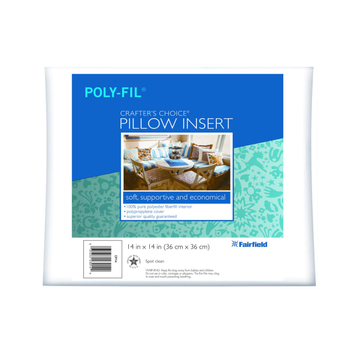 """Fairfield Crafter's Choice Pillow 14"""" Square"""