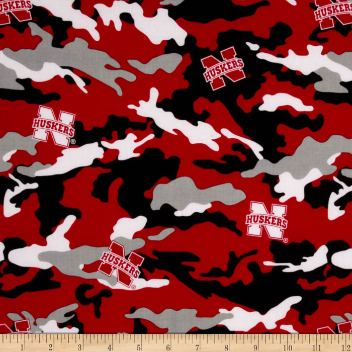 Collegiate Cotton Broadcloth The University of Nebraska