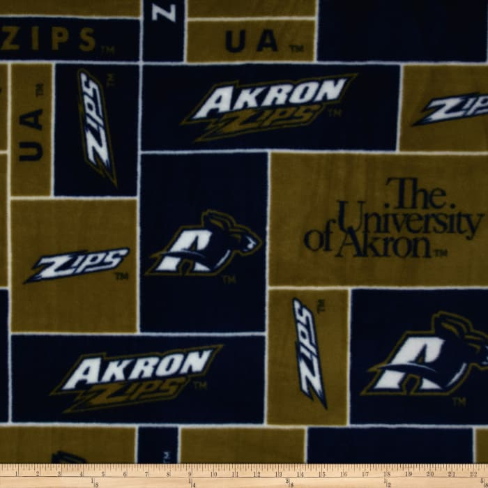 University of Akron Zips Fleece
