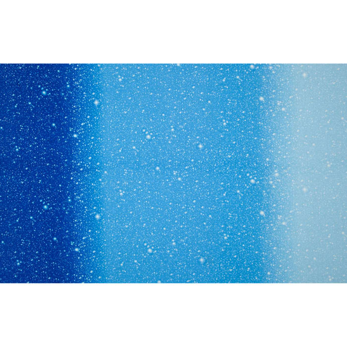 """I Want My Space 57"""" Wide Ombre Stars Blue"""