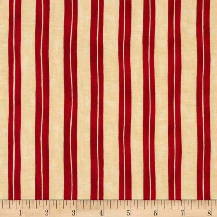 Home is in the Kitchen Stripe Red