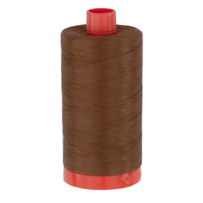 Aurifil Quilting Thread 50wt Dark Antique Gold