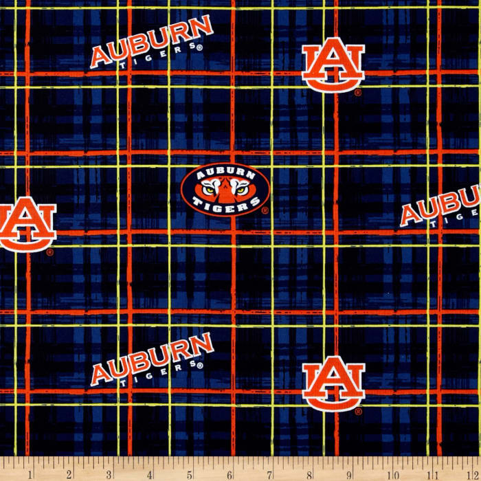 Collegiate Cotton Broadcloth Auburn