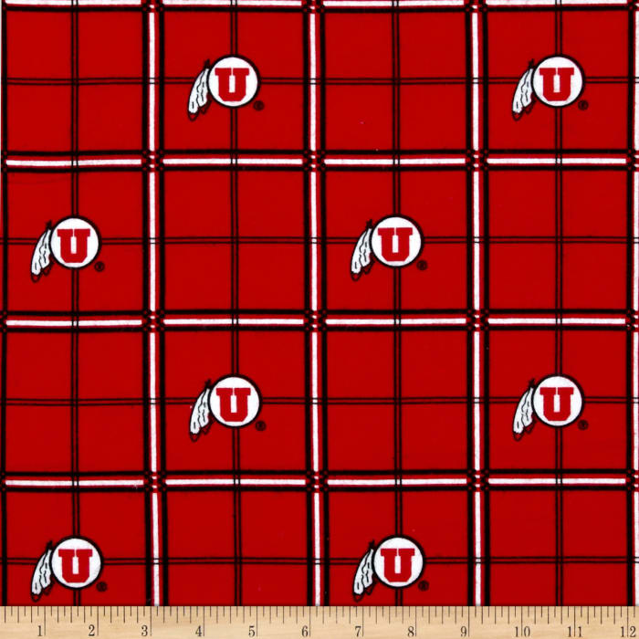 Collegiate Cotton Flannel University of Utah
