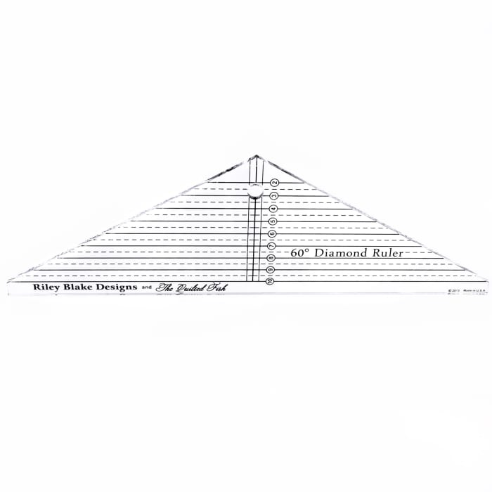 The Quilted Fish Diamond Ruler
