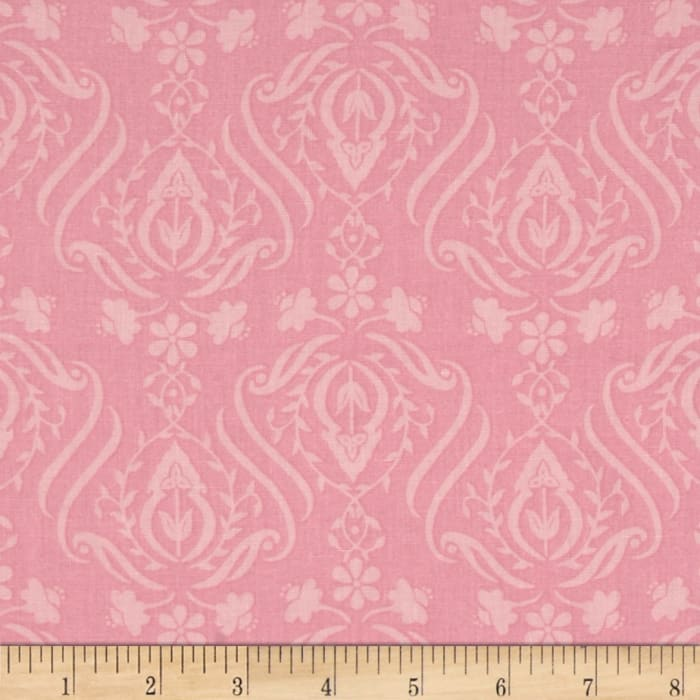 Jams & Jellies Baroque Scroll Pink