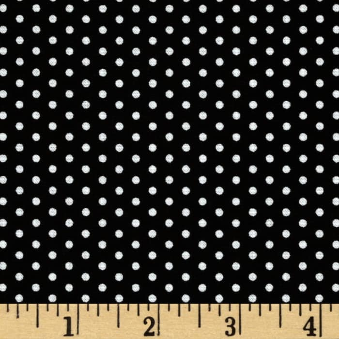 Spot On Pindot Black