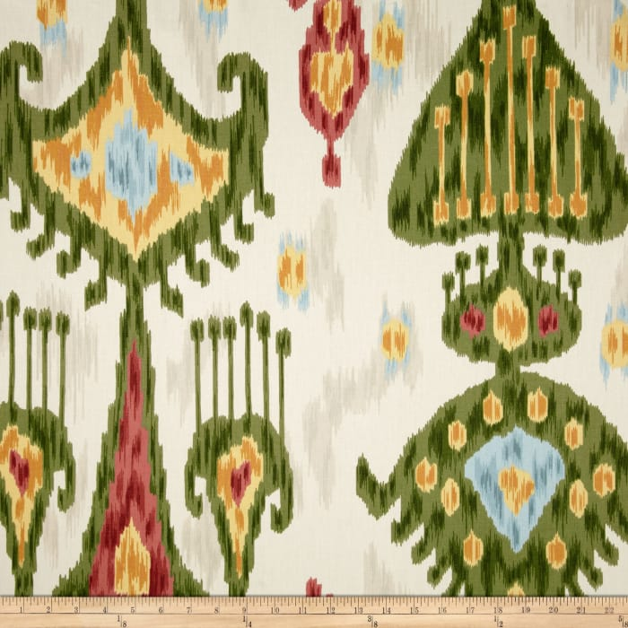 Robert Allen @ Home Khandar Ikat Twill Jewel