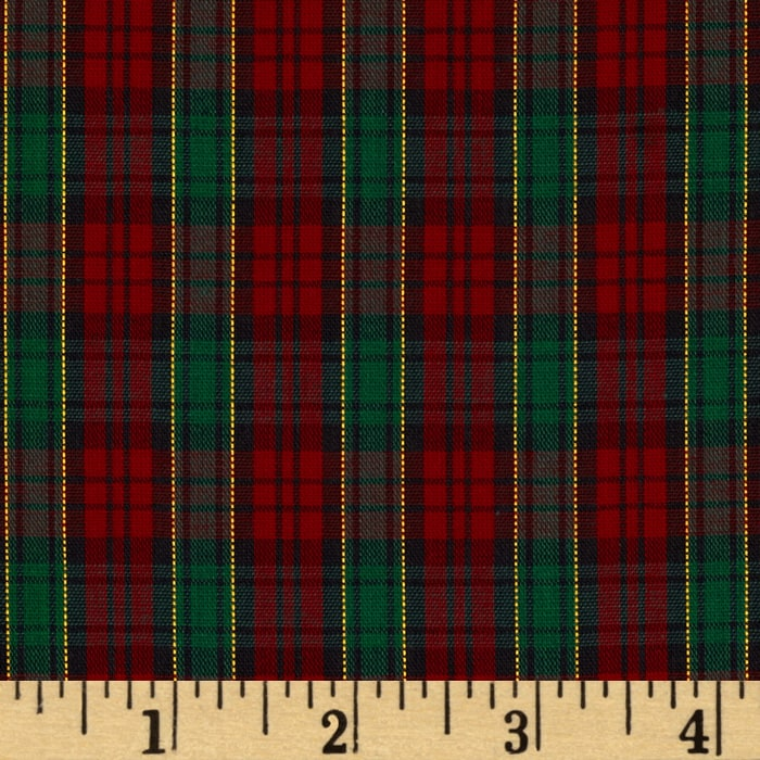 Imperial Tartan Golden Anniversary Plaid Red/Green