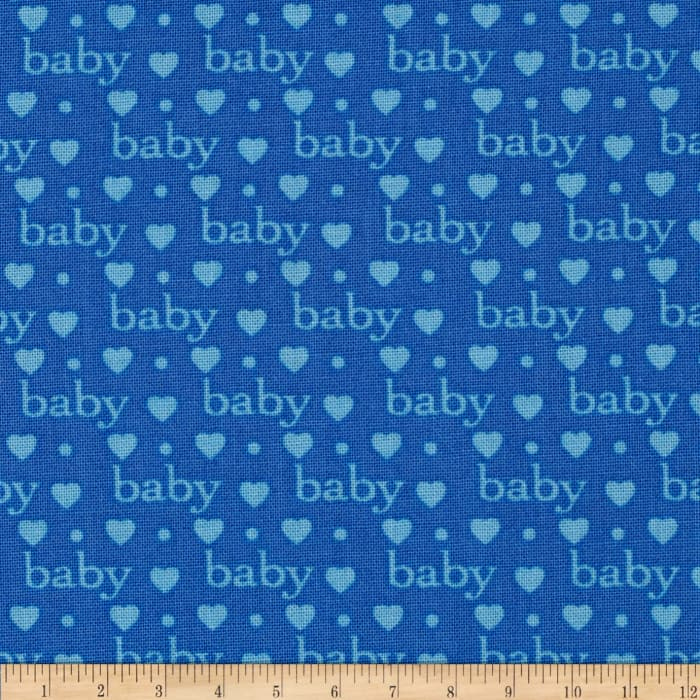 Bundle of Joy Baby Love Royal Blue