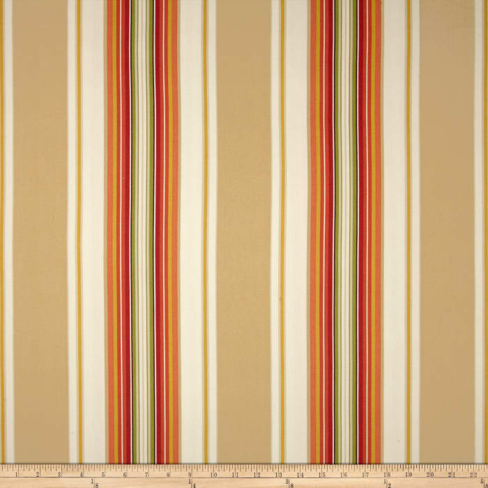 Duralee Home Claires Stripe II Twill Natural
