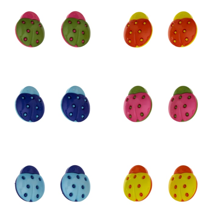 Dress It Up Embellishment Buttons Cute As A Bug