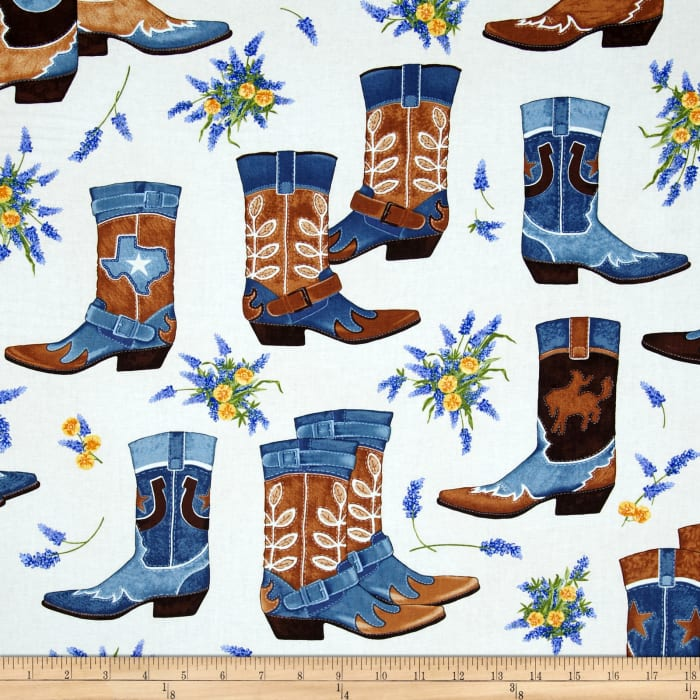 Greetings from Texas Boots Denim